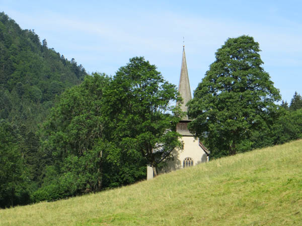 Höllental - Oswald-Kapelle